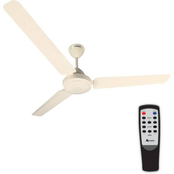 Gorilla Efficio Energy Saving 5 Star Rated with Remote Control and BLDC Motor 3 Blade Ceiling Fan