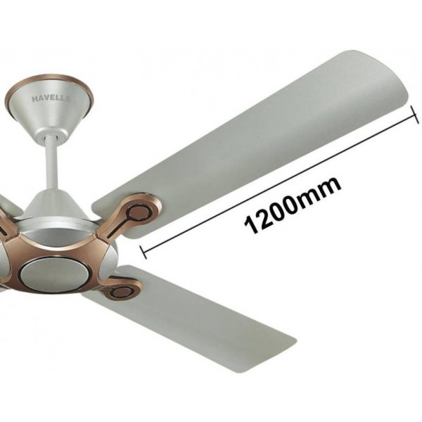 Havells Leganza 4Blade 4 Blade Ceiling Fan  (BRONZE GOLD)