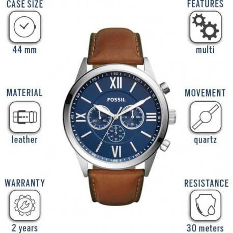 Fossil  BQ2125 FLYNN Watch - For Men