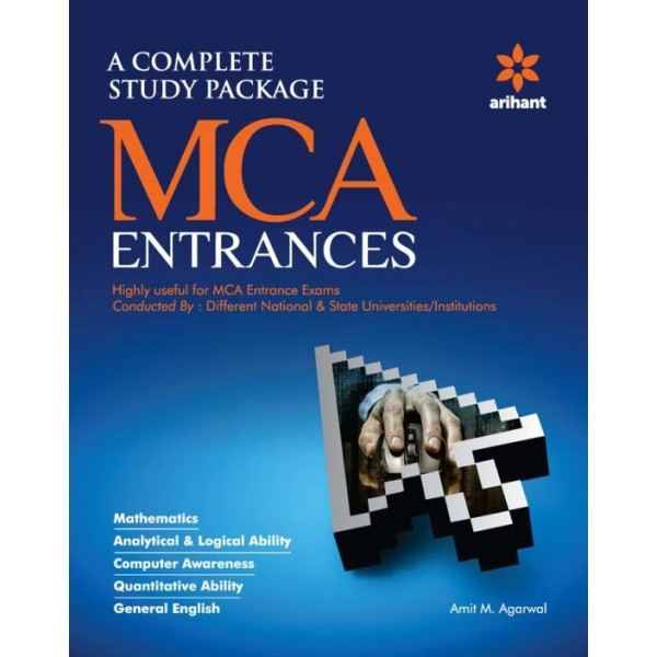 A Complete Study Pacakage for MCA Entrances  (English, Paperback, Amit M Agarwal)