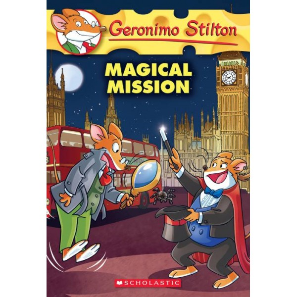 Magical Mission  (English, Paperback, Geronimo Stilton)