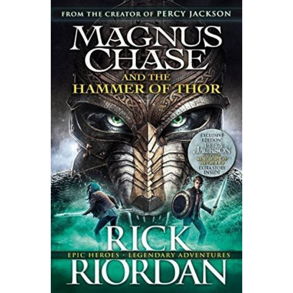 Magnus Chase and the Hammer of Thor  (English, Paperback, Rick Riordan)