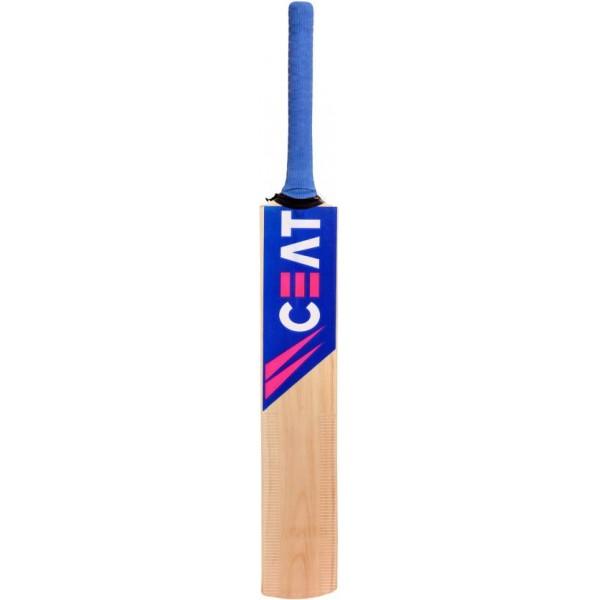 CEAT BAT Poplar Willow Cricket Bat  (Short Handle, 1 kg)