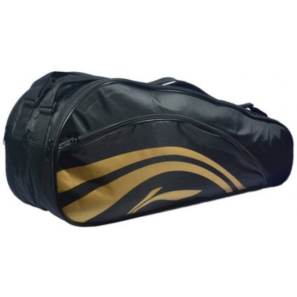 Li-Ning 2 in 1 Thermal Double Belt Bag  (Black, Kit Bag)