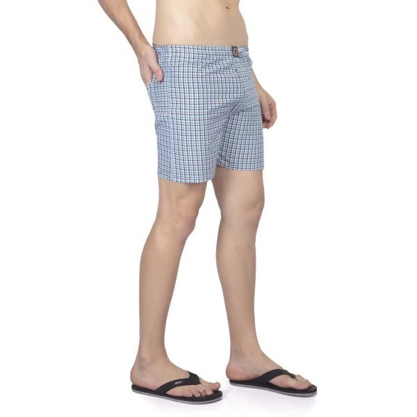 Joven  Checkered Men's Boxer  (Pack of 3)