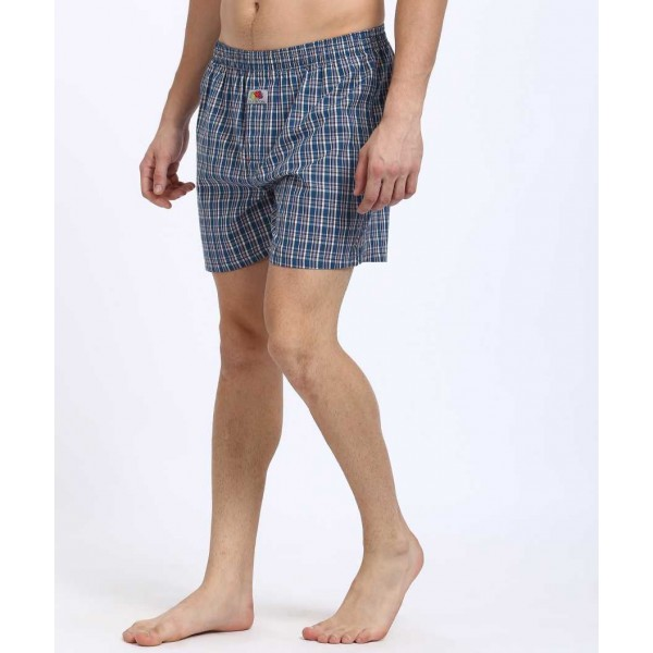 Fruit of the Loom  Checkered Men's Boxer  (Pack of 1)