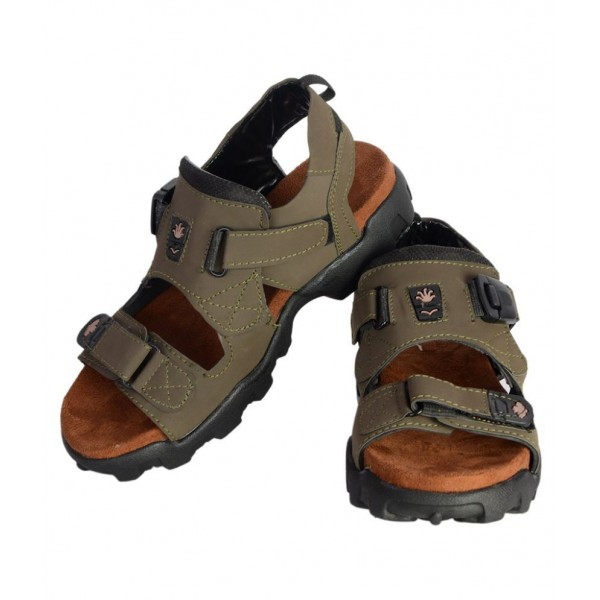 Dakarr Gray Floater Sandals