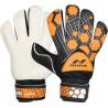 Nivia Raptor Torrido Goalkeeping Gloves (M, Black, Orange)