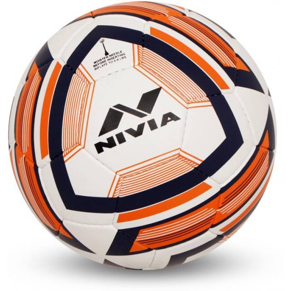 Nivia Equator Football - Size: 5  (Pack of 1, Multicolor)