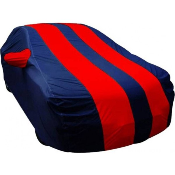 Techmaster Car Cover For Hyundai i20 (With Mirror Pockets)  (Red, Blue)