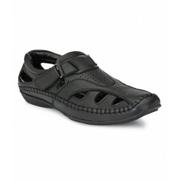 El Paso Black Sandals