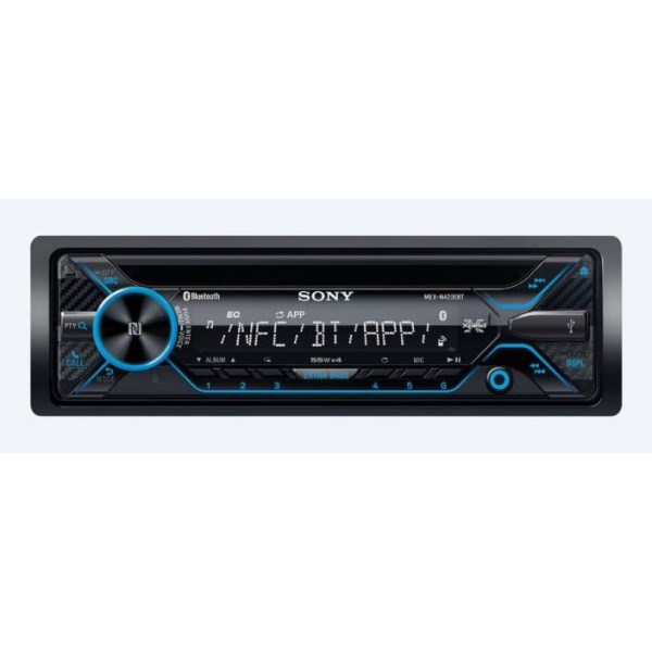 Sony MEX-N4200BT Car Stereo  (Single Din)