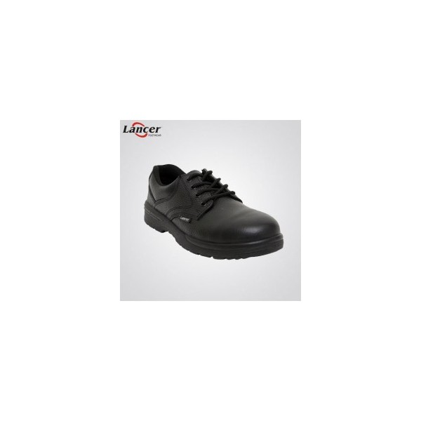 Lancer Size 7 Steel Toe Safety Shoes- 202LA