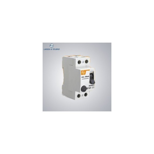 L&T 2 Pole 100A RCCB-BG210003