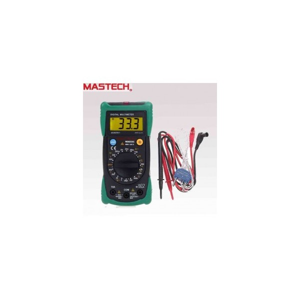 Mastech Digital LCD Multimeter - MS 8233 C