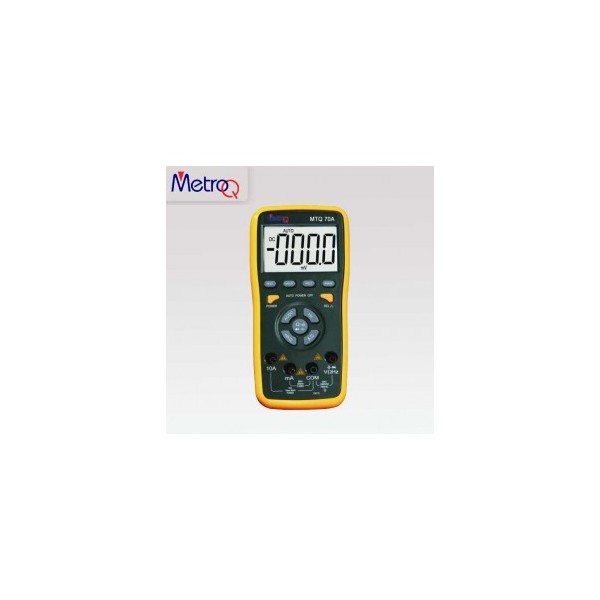 MetroQ TRMS Digital LCD Multimeter - MTQ 70A