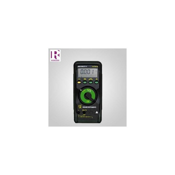 Rishabh Digital LCD Multimeter - Rish multi 11