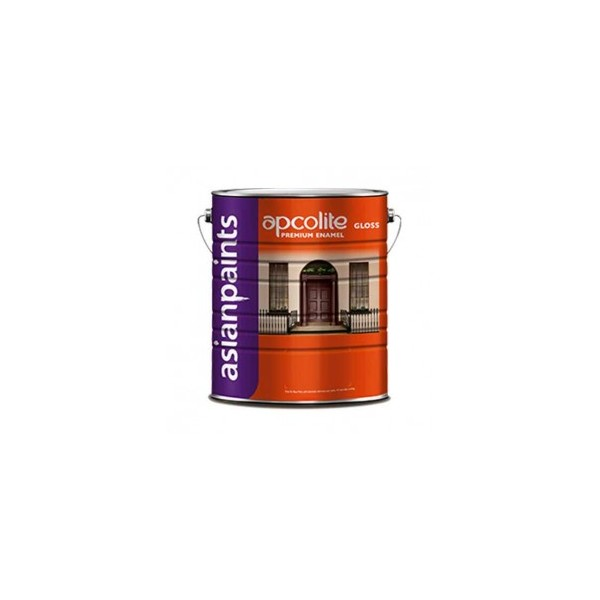 Asian Paints Apcolite Premium Gloss Enamel-Brilliant White-1 Ltr