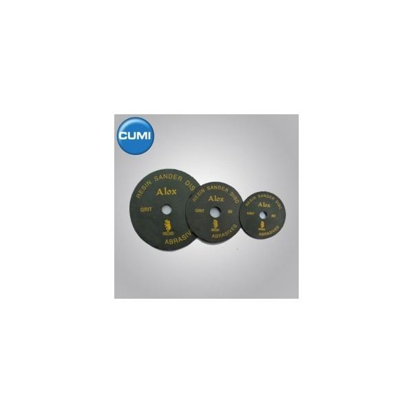 """Ajax 12"""" Grit 50 Aloxide Resin Paper Sander Disc (Pack Of 10)"""