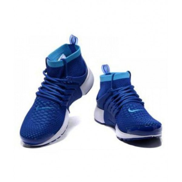 Nike Air Presto Flyknit Blue Running Shoes
