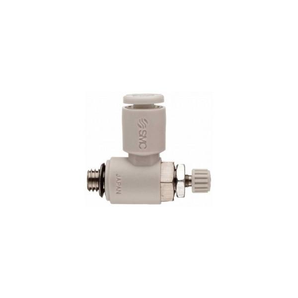 SMC M5X0.8 100LPM Flow Control Valve-AS1201F-M5-06A