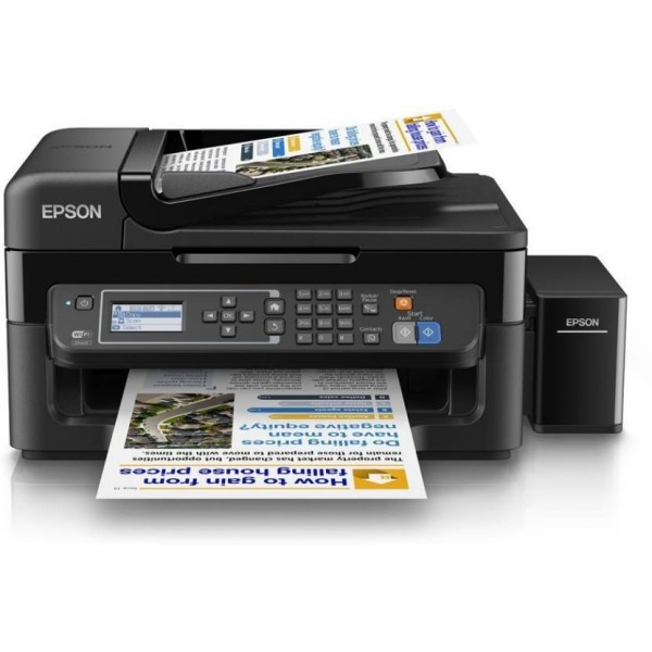 Epson L565 Multi-function Wireless Printer  (Black, Refillable Ink Tank)