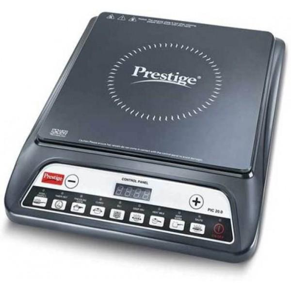 Prestige PIC 20.0 Induction Cooktop  (Black, Push Button)