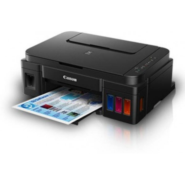 Canon Pixma Ink Tank G 3000 Multi-function Wireless Printer  (Black, Refillable Ink Tank)
