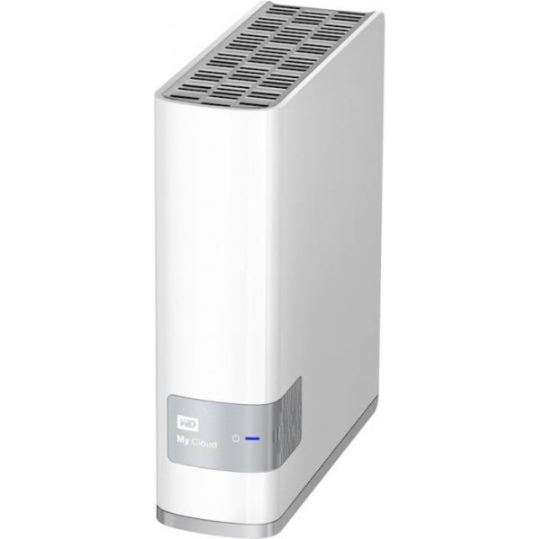 Wd My Cloud Personal Storage 2 TB External Hard Disk Drive  (White)