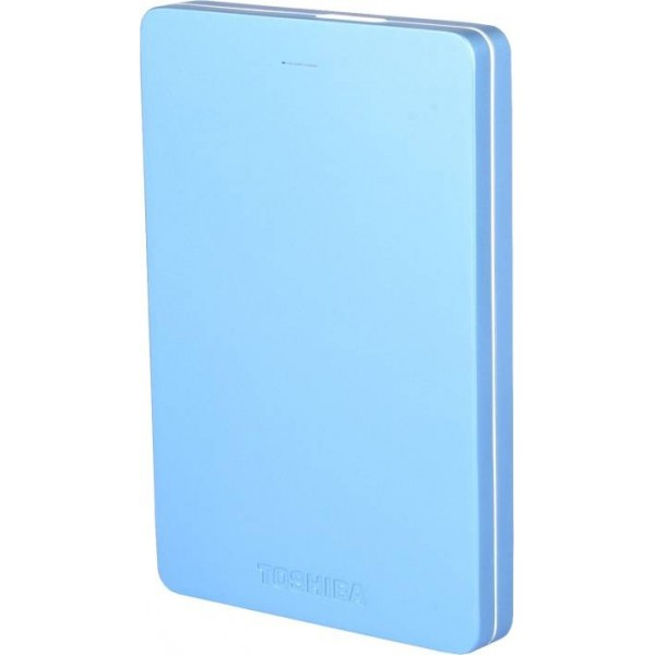 Toshiba Canvio Alumy 1 TB Wired External Hard Disk Drive  (Blue)