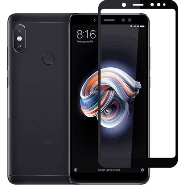 Molife Tempered Glass Guard for Mi Redmi Note 5 Pro