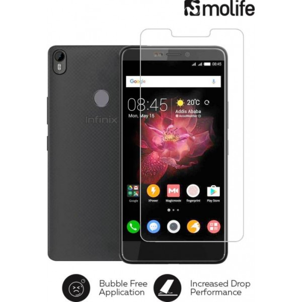 Molife Tempered Glass Guard for Infinix Hot S3