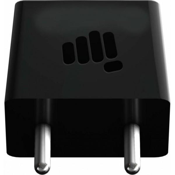 Micromax CHGACC15C02BBLA Mobile Charger  (Black)