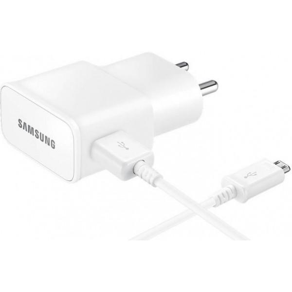 Samsung Travel Adapter EP-TA13IWEUGIN Mobile Charger  (White)