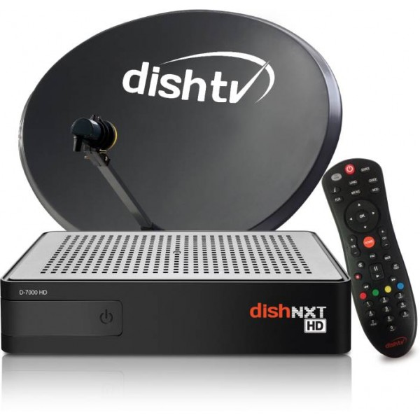 Dish TV HD Connection - All India Pack 1 month Super Family & Full on HD
