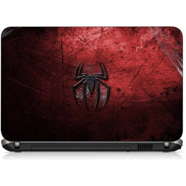 VI Collections SPIDER RED ABSTRACT pvc Laptop Decal 15.6
