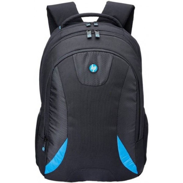 HP 15.6 inch Expandable Laptop Backpack  (Black, Blue)