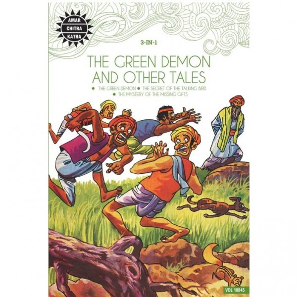 The Green Demon and Other Stories (3 in 1)  (English, Paperback, Anant Pai)
