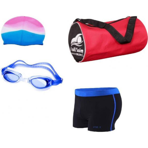 Star X Swimming Kit combo with Bag Swimming Kit
