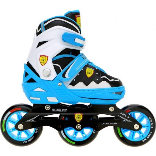 Veera V-737 In-line Skates - Size 11-2 UK  (Blue)