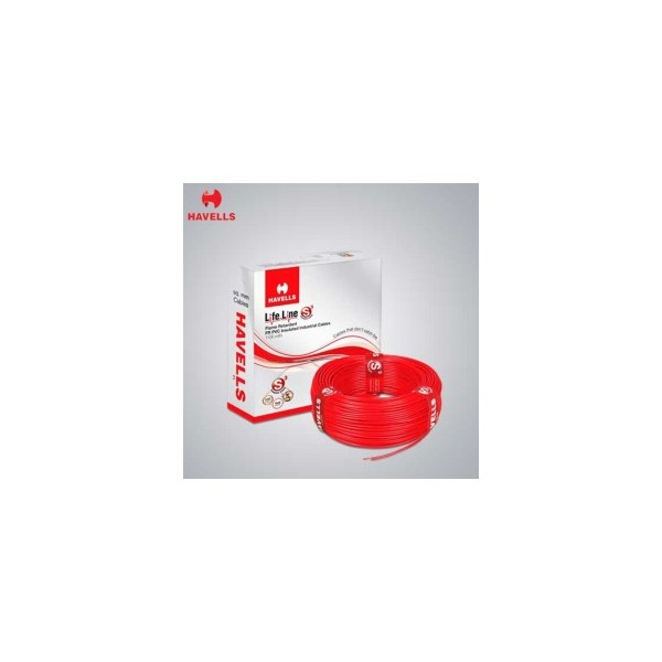 Havells 0.5mm² Single Core PVC Insulated Flexible Domestic Wire-WHFFDNWA1X50