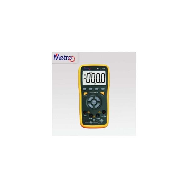 MetroQ TRMS Digital LCD Multimeter - MTQ 70A