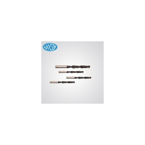 Addison HSS Parallel Shank Twist Drill (Jobber series) Drill Diameter-13.1 mm (Pack Of 10)