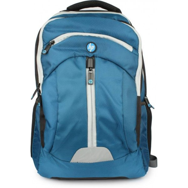 HP 15.6 inch Expandable Laptop Backpack  (Blue)