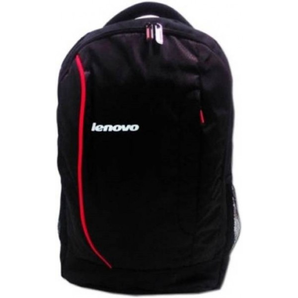 Lenovo 18 inch Expandable Laptop Backpack  (Black, Red)