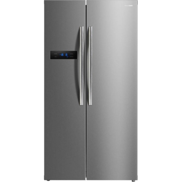 Panasonic 582 L Frost Free Side by Side Refrigerator  (Stainless Steel, NR-BS60MSX1)