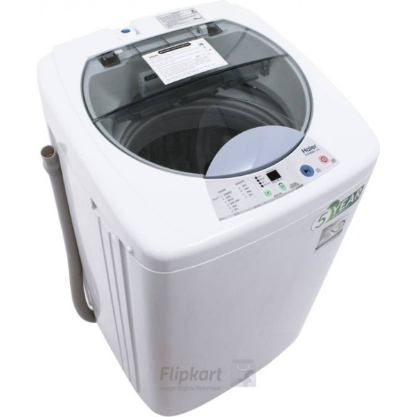 Haier 6 kg Fully Automatic Top Load Washing Machine White  (HWM 60-10)