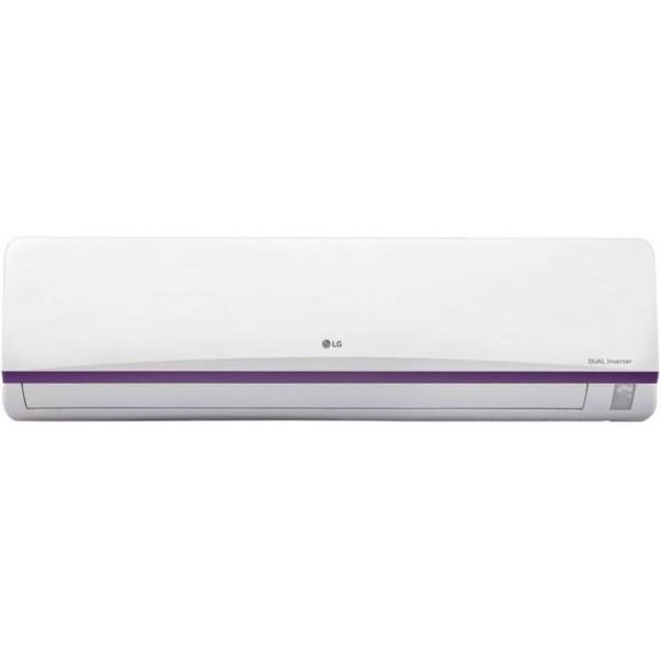 LG 1.5 Ton 3 Star BEE Rating 2017 Inverter AC - White  (JS-Q18BPXA, Aluminium Condenser)