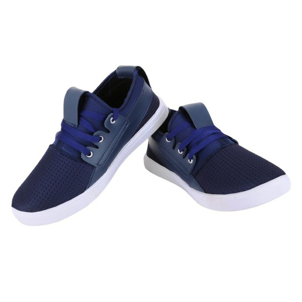 Treadfit Offbeat Sneakers Blue Casual Shoes