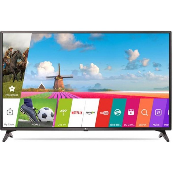 LG 108cm (43 inch) Full HD LED Smart TV  (43LJ554T)
